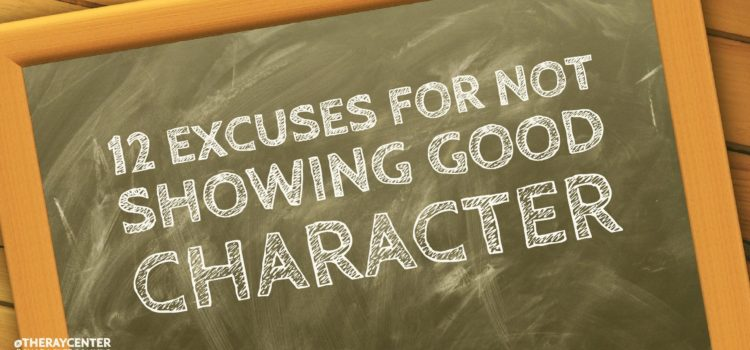 Watch out for these 12 excuses