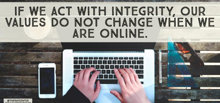 Could social media test your integrity?