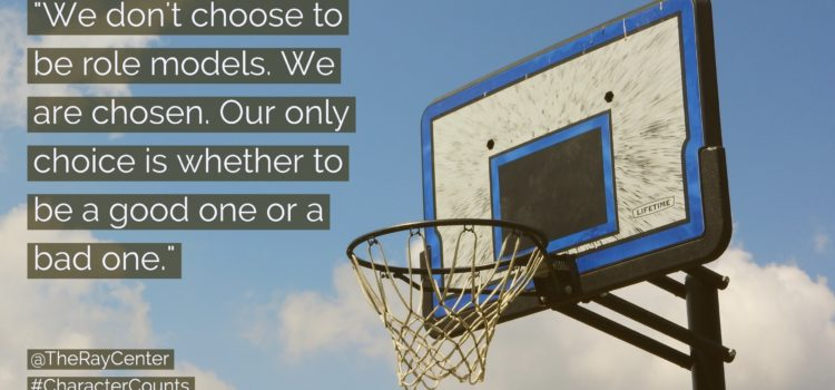 Do you have a responsibility to be a role model?