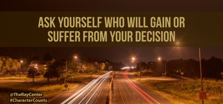 Who pays for your choices?