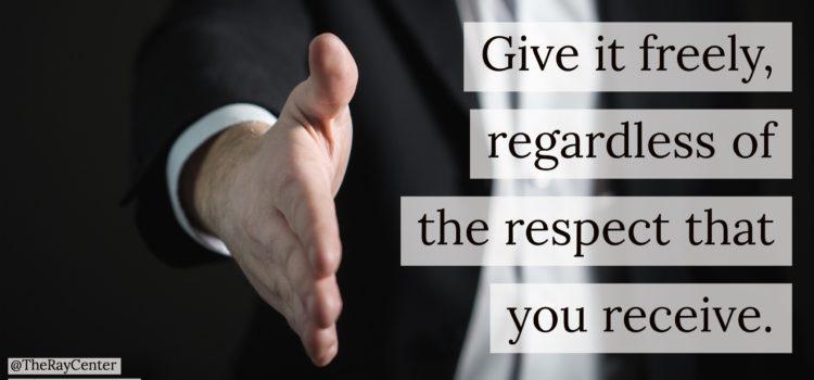 Respecting everyone