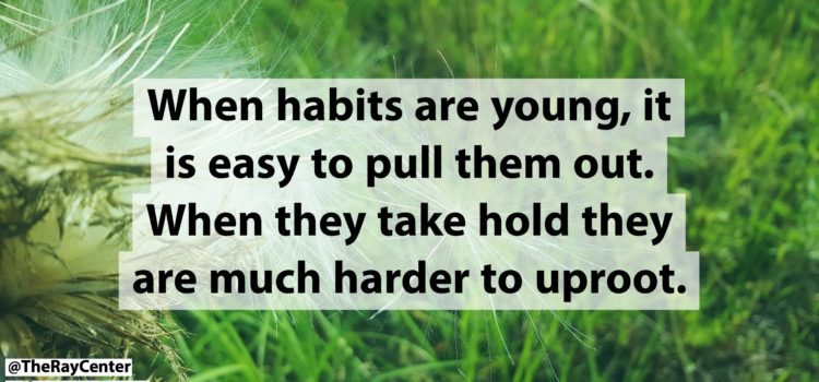 The deep roots of bad habits