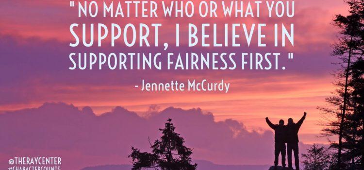 Fairness first