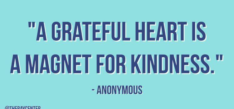A magnet for kindness