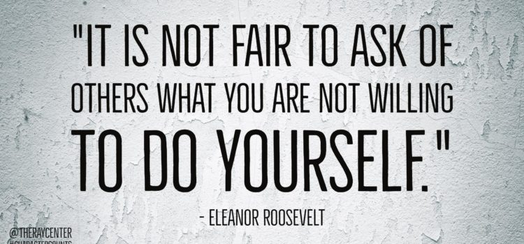 Do yourself
