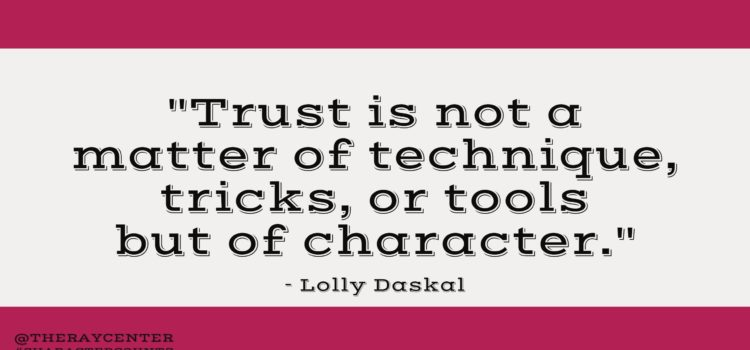 Trust and character