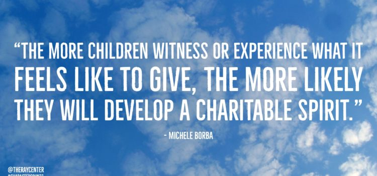 10 ways to raise a charitable child