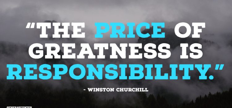 Greatness and responsibility