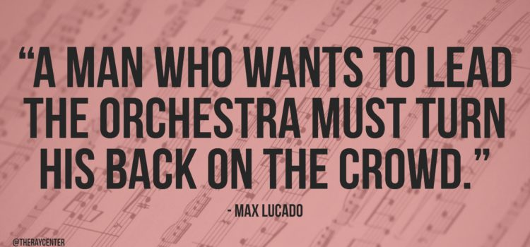 To lead the orchestra
