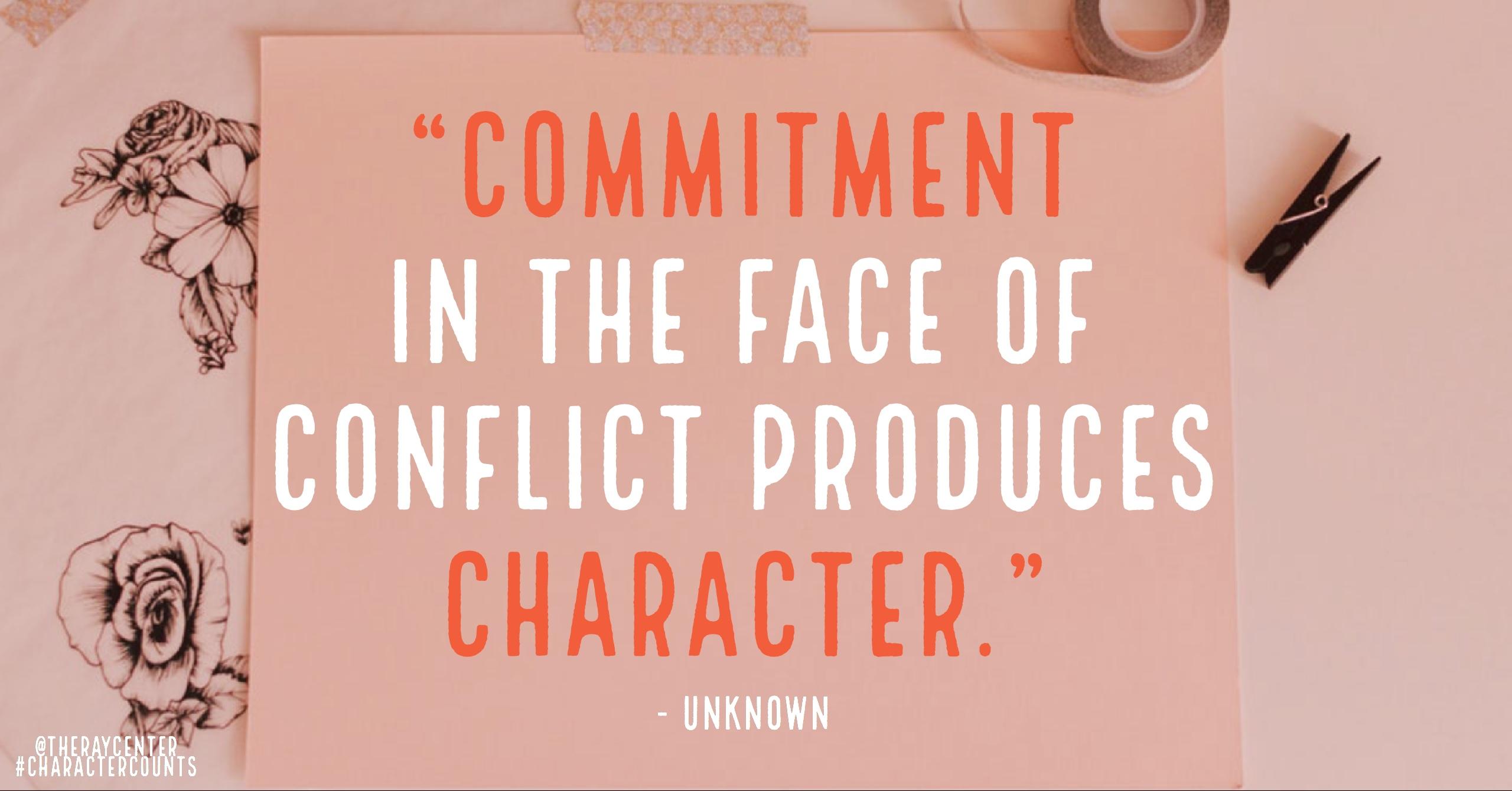 @TheRayCenter #CharacterCounts