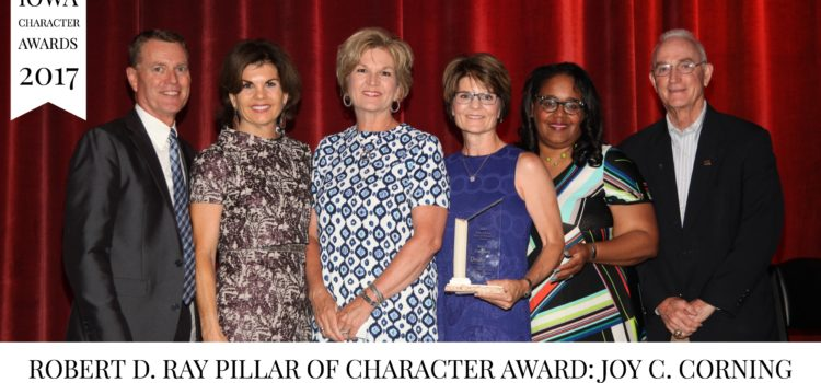 Meet the 2017 Iowa Character Award recipients!