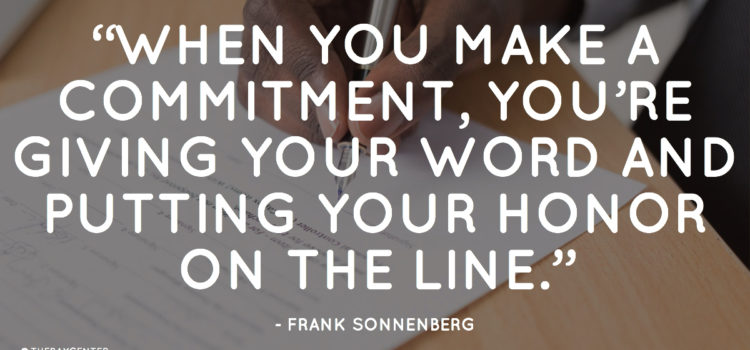 Is your commitment as binding as a contract?
