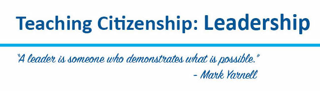 Teaching citizenship: leadership