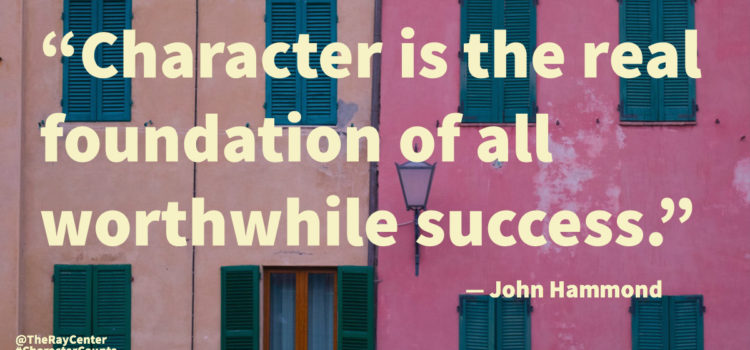 Character education curriculum, lessons, and activities