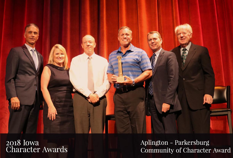 Iowa Character Award_ Aplington - Parkersburg