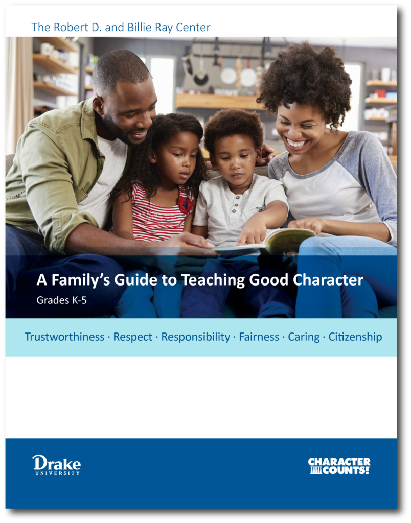 Family Guide to Teaching Good Character